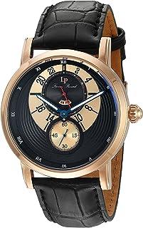[ルシアン ピカール]Lucien Piccard 腕時計 'Santorini' Quartz Stainless Steel and Leather LP-40043-RG-01 メンズ [並行輸入品]