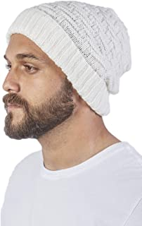 Raymis Unisex Alpaca Wool Beanie - Warm, Soft & Thick Woolen Cap Hat