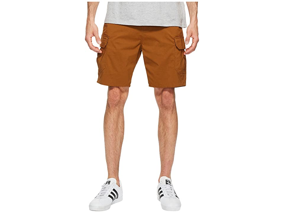 Brixton Transport Cargo Shorts (Copper) Men