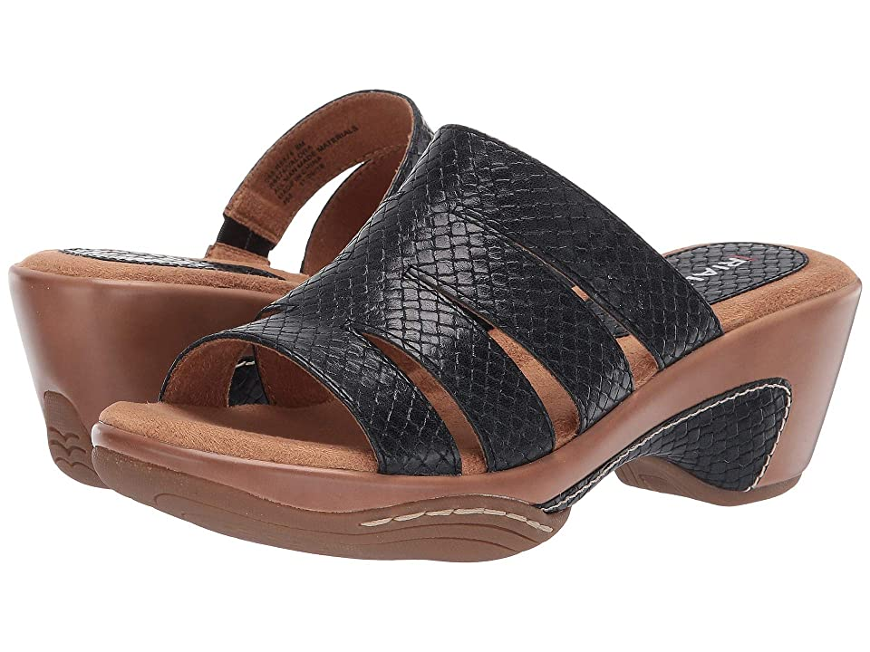 Rialto Valora (Black/Metallic Woven) Women