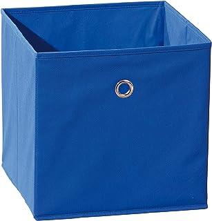 Links 99200260 Winny Bac Rangement Pliable Bleu 31,5 x 31,5 x 31 cm