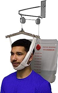 OTC Cervical Traction Kit, Neck Pain Relief, Vertebrae Disk Herniation, Complete Over Door Setup