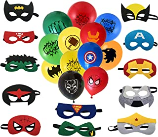 superhero party packages