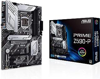 ASUS Prime Z590-P LGA 1200 (Intel® 11th/10th Gen) ATX Motherboard (PCIe 4.0, 10+1 Power Stages, 3X M.2, 2.5Gb LAN, Front P...