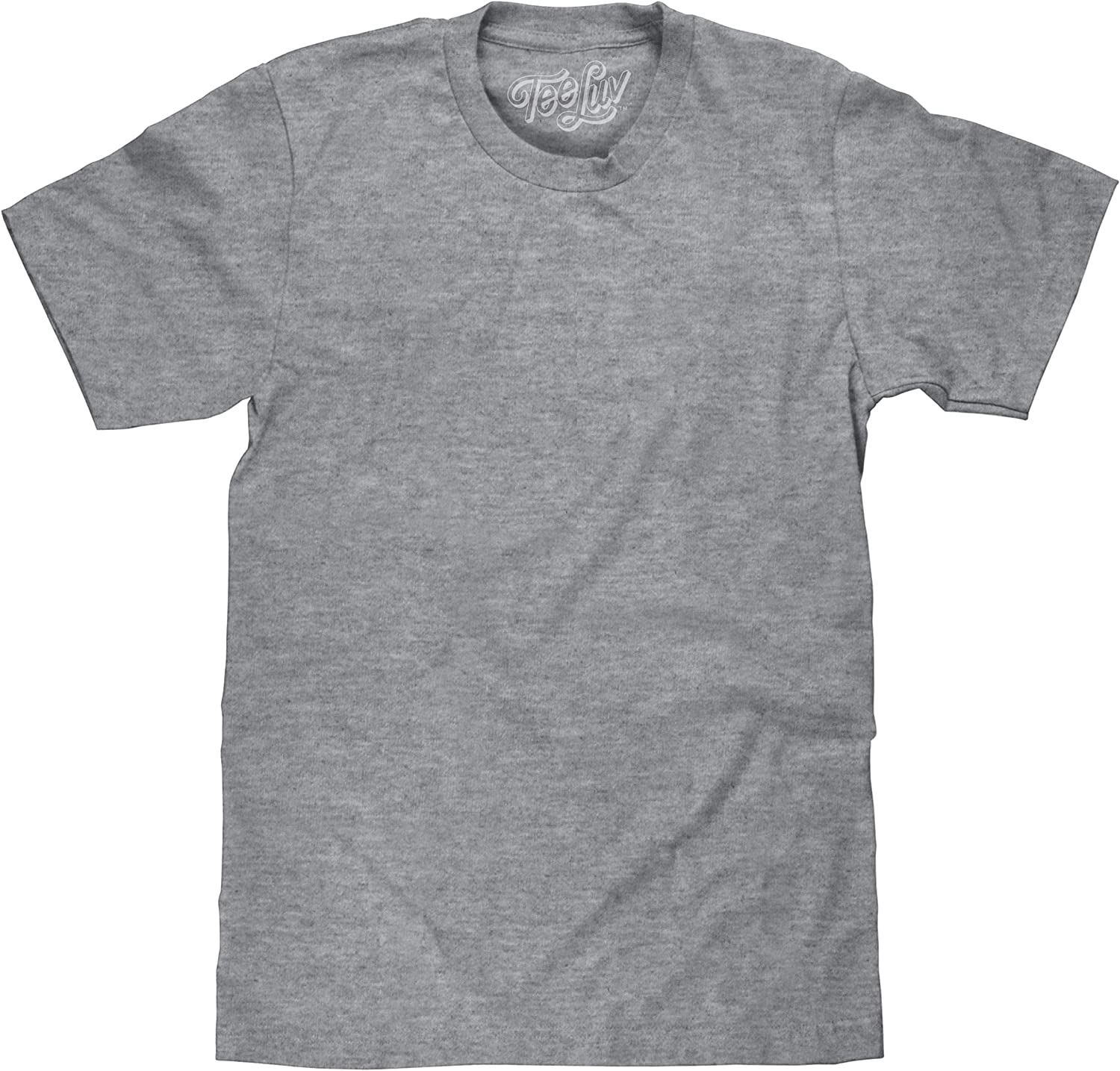 Tee Luv Men's Casual Big and Tall T-Shirt