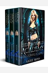 Hidden World Academy: Complete Series (Books 1-3): A Reverse Harem Paranormal Romance Kindle Edition