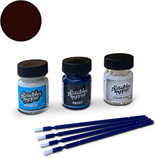 ScratchesHappen Exact-Match Touch Up Paint Kit Compatible with Genesis/Hyundai Burgundy Wine/Pamplona Red/Vintage Wine (VW/YR6) - Preferred
