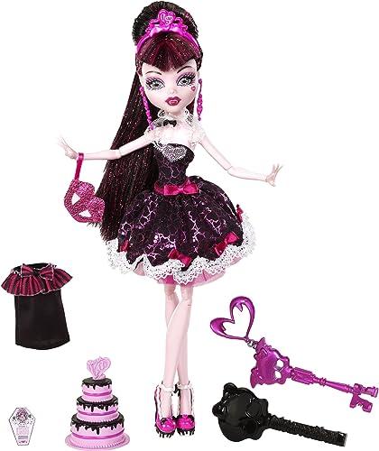 Mattel W9189 - Monster High Draculaura, Graf Draculas Tochter, Puppe