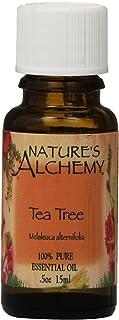 Nature's Alchemy 100% Pure Essential Oil Tea Tree, 0.5 Fluid Ounce