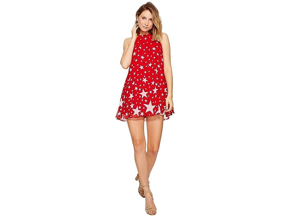Show Me Your Mumu Katy Halter Dress (Catch a Fallling Star) Women