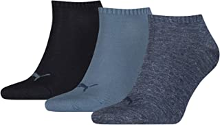 Puma Men's Sneaker Plain Sock, (Pack of 3)