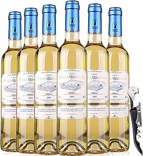【优红酒酒庄直采】 2002年法国波尔多卡地亚克产区赛美蓉老藤手工采摘 贵腐甜白葡萄酒 单支500ml 60年老藤葡萄 酿制工艺复杂,珍贵葡萄品种!
