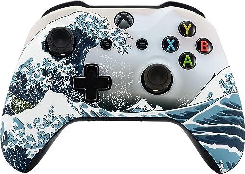 eXtremeRate Coque Avant,Boîtier Housse de Remplacement pour Xbox One X/S Manette Contrôleur(Modèle 1708)-La Grande Va...