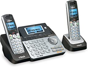 VTech DS6151-2 2 Handset 2-Line Cordless Phone System for Home or Small Business with Digital Answering System & Mailbox o... photo