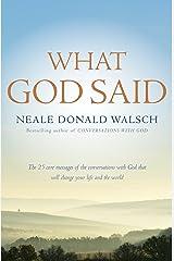 What God Said (English Edition) Format Kindle