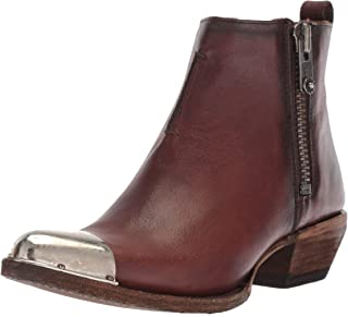 Frye Women's Sacha Metal Plate Shortie Western Boot