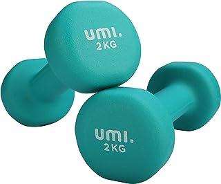 [Amazon ブランド] Umi(ウミ)- ダンベル 2個セット 1kg/2kg/3kg/4kg/5kg/8kg/10kg 筋トレ ダンベル 哑铃 ウエイト カラー ダンベル 鉄アレイ dumbbell
