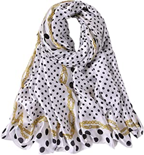 ALBERTO CABALE Pois Stripe Stole Silk Scarf Hair Hijab Vintage Women Fashion Luxury Charm Shawl Summer Accessory Reception