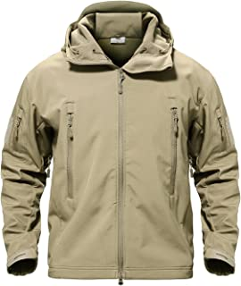98d82e185 MAGCOMSEN Men's Tactical Army Outdoor Coat Camouflage Softshell Jacket  Hunting Jacket