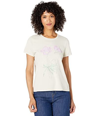 Lucky Brand Floral Circle Classic Crew