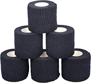Oly Grip: Weightlifting Thumb Hook Grip Cotton Tear Stretch Tape (6 Rolls) - Weight Lifting - Crossfit - Gymnastics - Keep Fingers and Hands Safe During Workout