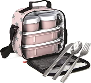 PracticFood - Kit Urban Food Negro Cubiertos - Bolsa té