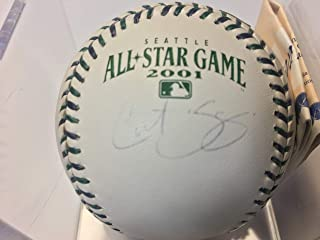Curt Schilling Autographed 2001 All-Star Game Baseball Steiner C.O.A.