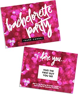 Bachelorette Party Dare Card Game, Girls Night Out, 24 Scratch Off Cards