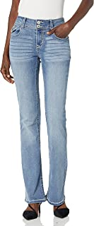 Sponsored Ad - WallFlower Women's Instastretch Bling Luscious Curvy Bootcut Jeans