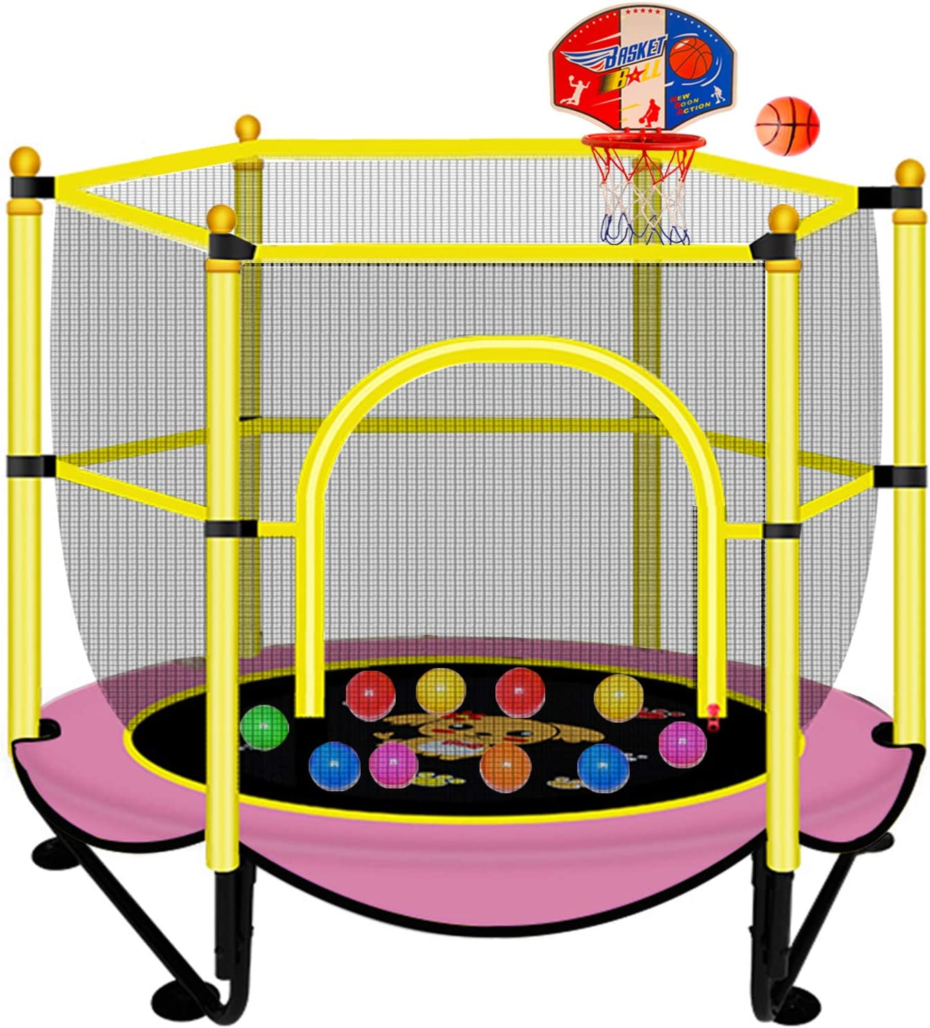 Trampoline for Kids 12FT Enclosure with Net Department store Outdoor Complete Free Shipping