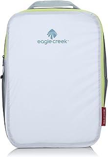 Eagle Creek Pack-it Specter Compression Cube Medium Organizador para Maletas, 36 cm, 7.5 litros, White/Strobe