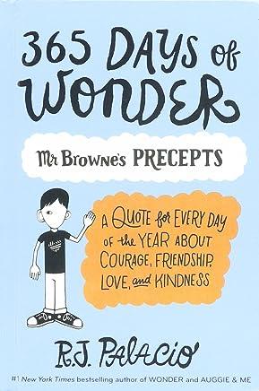 365 Days of Wonder: Mr. Browne's of Precepts