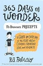 365 Days Of Wonder: Mr. Browne's Book Of Precepts (Turtleback Binding Edition)
