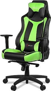 Arozzi Vernazza Series Super Premium Gaming Racing Style Swivel Chair, Green