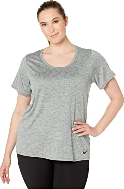 3f64fbfb Nike breathe short sleeve training top | Shipped Free at Zappos