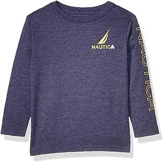 Boys' Toddler Long Sleeve Arm Logo Crew Neck Tee