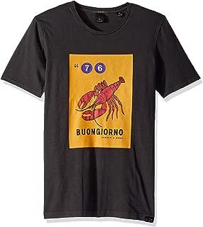Men's Italian Text Art T-Shirt