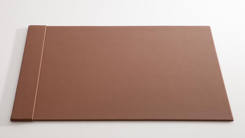 C. Matthey Schreibunterlage aus feinem italienischen Rindleder 50 x 70 cm, 0,6 cm dick, mit einer 7 cm breiten Einsteckleiste, Farbe  haselnuss - Handmade in Germany B01N09UKIM   | Spielen Sie das Beste
