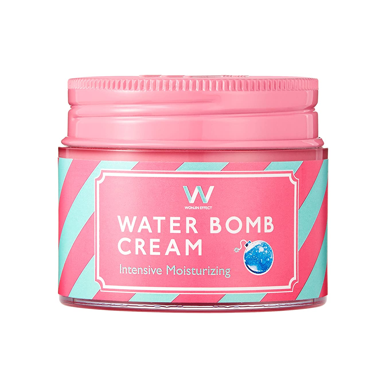 同盟検証例外ウォンジンエフェクター「WONJIN EFFECT」ウォーターバームクリーム50ml(Water bomb cream)?ピンクハル?(PINKHARU)?韓国コスメ? [並行輸入品]