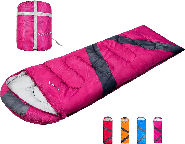 Yeeping Sleeping Bag 20 Lightweight Degree Waterpro free Max 86% OFF Fahrenheit