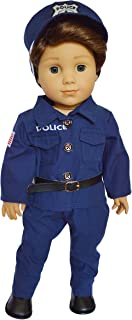 My Brittany's Police Officer Outfit for American Girl Boy Dolls- 18 Inch Boy Doll Clothes