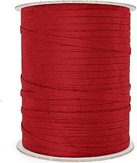 Natural Paper Raffia Ribbon 100 yd red 43235-107640