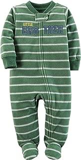 Carter's Baby Boys' Sleep 'N' Play Fleece Footie