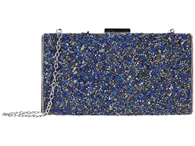 Jessica McClintock Jordana (Navy) Clutch Handbags