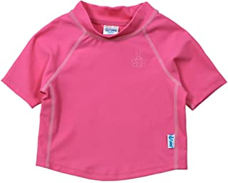 i play. Girls' Short Sleeve Rashguard Shirt
