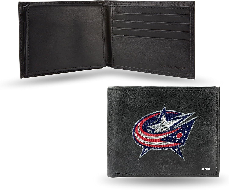 Rico Industries NHL Anaheim Ducks Embroidered Leather Billfold Wallet