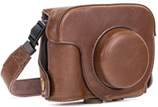 MegaGear MG183 - Bolsa de funda protectora para cámara compacta Canon PowerShot G16  color marrón oscuro