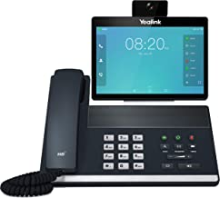 Yealink VP59 Smart Video IP Phone, 16 VoIP Accounts. 8-Inch Adjustable Color Touch Screen. Dual USB 2.0, 802.11ac Wi-Fi, D... photo
