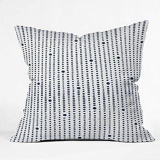 "Deny Designs Japandi Style Throw Pillow, 16"" x 16"""