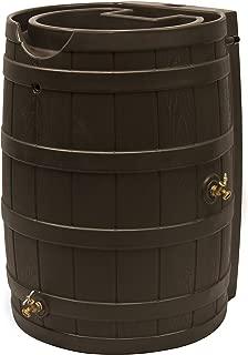 Good Ideas RW65-OAK Rain Wizard Rain Barrel 65 Gallon, Oak